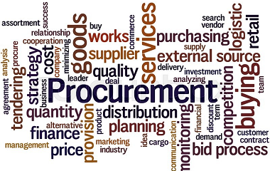 DIFFERENCES BETWEEN PROCUREMENT AND PURCHASING Title image